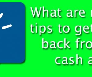 What are relevant tips to get money back from the cash app?